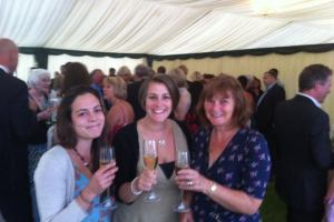 At the Finals for the Taste of Dorset Aug 2013