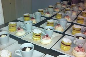 Trio of Desserts for Abbots in the Evening