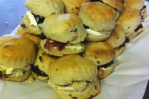 Homemade Scones, Cream & Jam