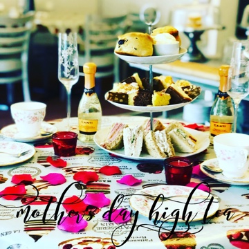 High Teas are pre-bookable with 24hrs notice